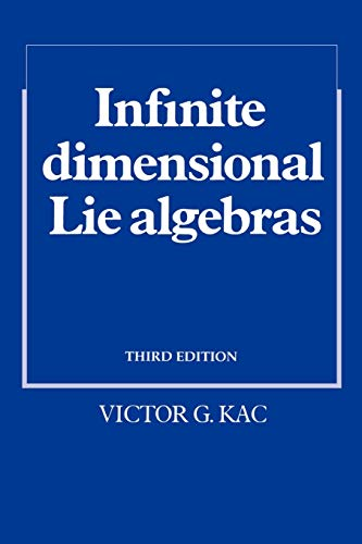 9780521466936: Infinite-Dimensional Lie Algebras