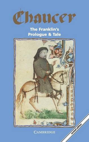9780521466943: The Franklin's Prologue and Tale (Selected Tales from Chaucer)