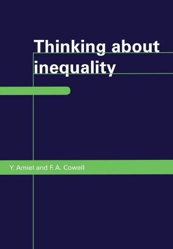 9780521466967: Thinking about Inequality: Personal Judgment and Income Distributions