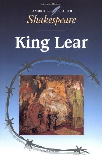 9780521466974: King Lear (Cambridge School Shakespeare)