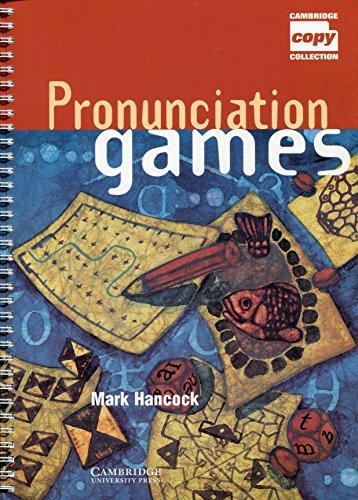 9780521467353: Pronunciation Games (Cambridge Copy Collection)