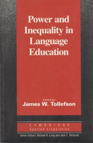 Power and Inequality in Language Education (Cambridge