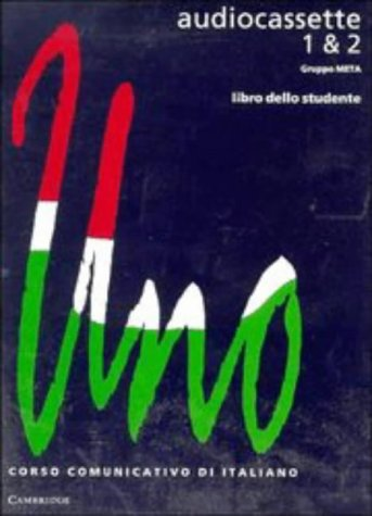9780521468152: Uno: Audiocassette 1 and 2 Audio Casette (2) (Italian Edition)