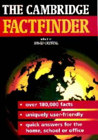 9780521469913: The Cambridge Factfinder Updated edition
