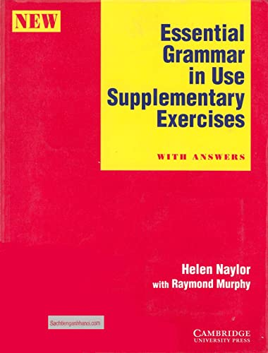 9780521469975: Essential Grammar in Use Supplementary Exercises With key
