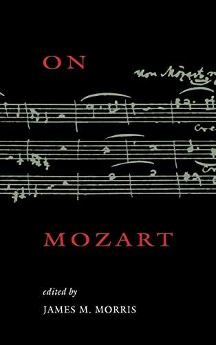 9780521470650: On Mozart (Woodrow Wilson Center Press)
