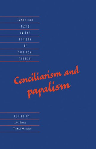 9780521470896: Conciliarism and Papalism