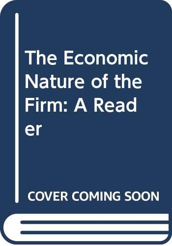 9780521470926: The Economic Nature of the Firm: A Reader