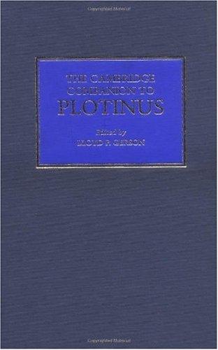 9780521470933: The Cambridge Companion to Plotinus (Cambridge Companions to Philosophy)