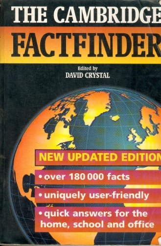 9780521471244: The Cambridge Factfinder Updated edition
