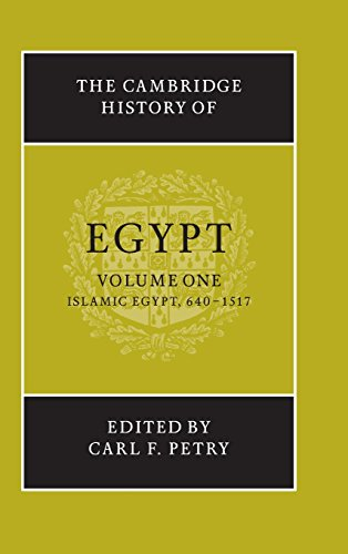 The Cambridge History of Egypt: Islamic Egypt,: Daly, M. W.