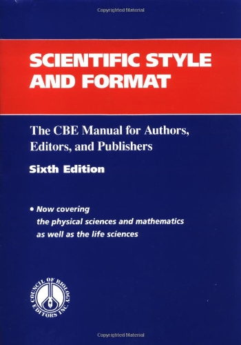 9780521471541: Scientific Style and Format: The CBE Manual for Authors, Editors, and Publishers (CBE Style Manual)