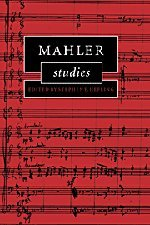 9780521471657: Mahler Studies (Cambridge Composer Studies)