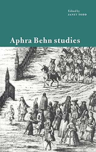9780521471695: Aphra Behn Studies Hardback