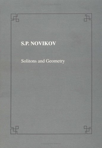 9780521471961: Solitons and Geometry (Lezione Fermiane)
