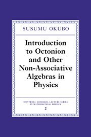 9780521472159: Introduction to Octonion and Other Non-Associative Algebras in Physics