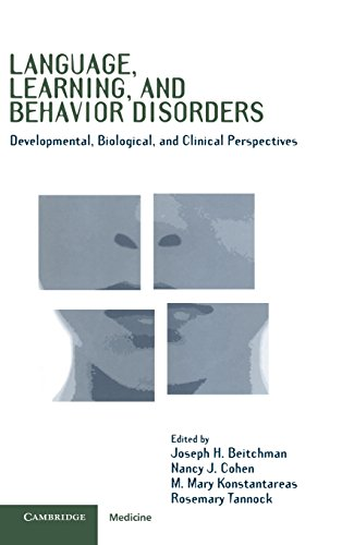 9780521472296: Language, Learning, and Behavior Disorders: Developmental, Biological, and Clinical Perspectives