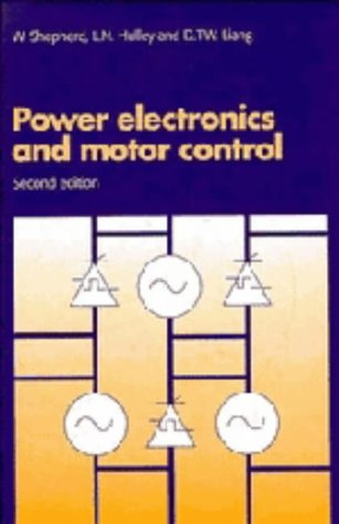 9780521472418: Power Electronics and Motor Control