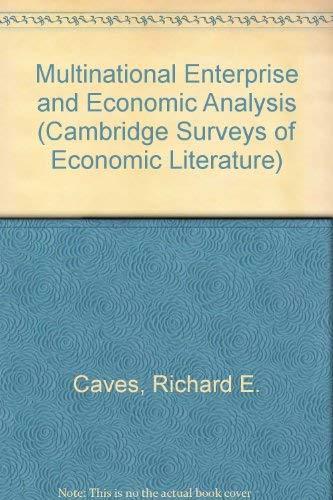 9780521472654: Multinational Enterprise and Economic Analysis (Cambridge Surveys of Economic Literature)