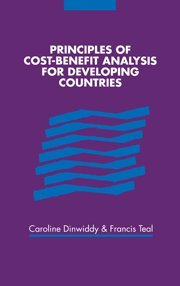 9780521473583: Principles of Cost-Benefit Analysis for Developing Countries