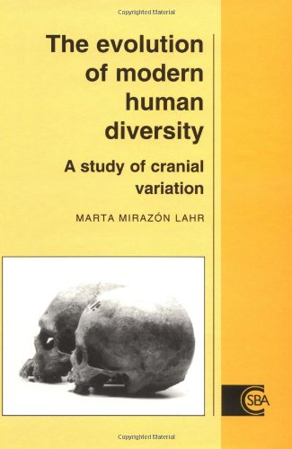 9780521473934: The Evolution of Modern Human Diversity: A Study of Cranial Variation (Cambridge Studies in Biological and Evolutionary Anthropology)