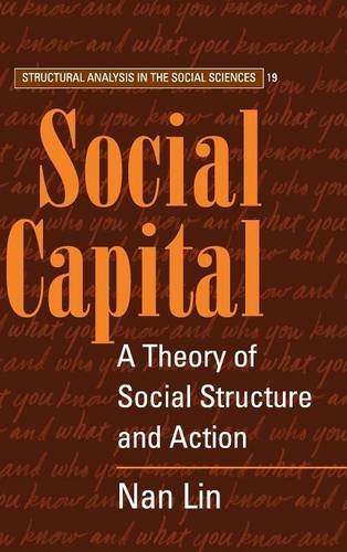 9780521474313: Social Capital: A Theory of Social Structure and Action (Structural Analysis in the Social Sciences)