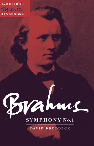 9780521474320: Brahms: Symphony No. 1 (Cambridge Music Handbooks)