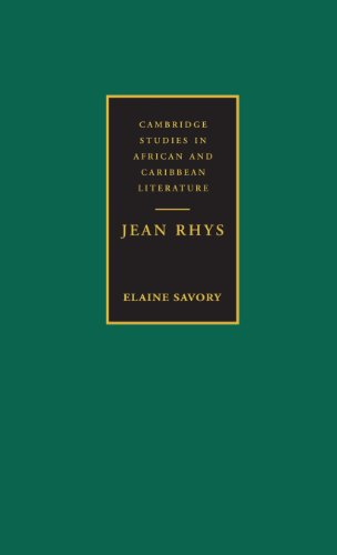 9780521474344: Jean Rhys (Cambridge Studies in African and Caribbean Literature)