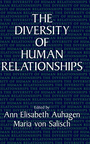 9780521474634: The Diversity of Human Relationships