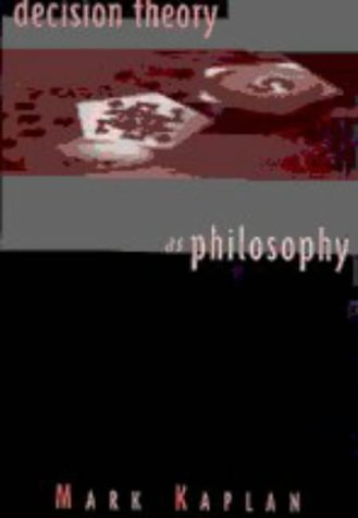 9780521475051: Decision Theory as Philosophy