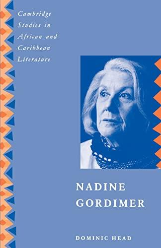 9780521475495: Nadine Gordimer