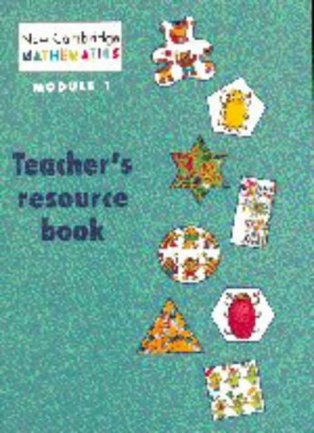 9780521475808: NCM Module 1 Teacher's resource book (New Cambridge Mathematics)