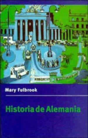 9780521476478: Historia de Alemania (Cambridge Concise Histories)