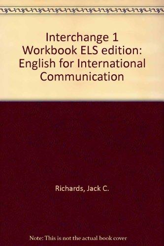 9780521476638: Interchange 1 Workbook ELS edition: English for International Communication
