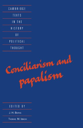 9780521476744: Conciliarism and Papalism