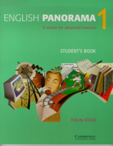 9780521476874: English Panorama 1 Student's book: A Course for Advanced Learners (Bk.1)