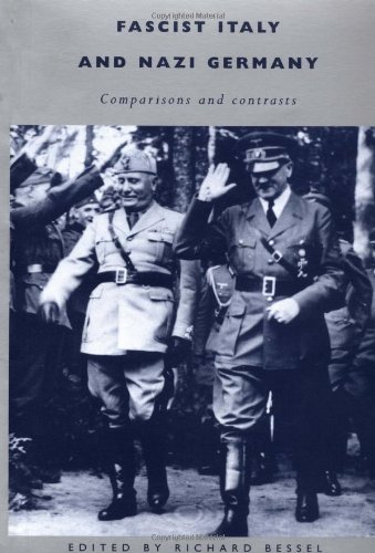 9780521477116: Fascist Italy and Nazi Germany: Comparisons and Contrasts
