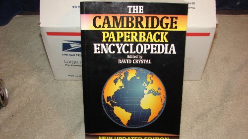 9780521477338: The Cambridge Paperback Encyclopedia Updated Edition