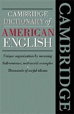 9780521477611: Cambridge Dictionary of American English