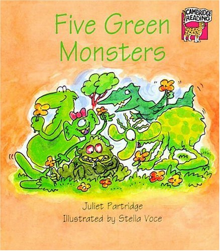 9780521477871: Five Green Monsters (Cambridge Reading)