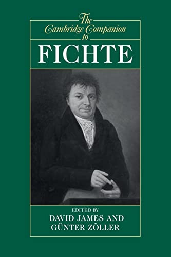 9780521478052: The Cambridge Companion to Fichte (Cambridge Companions to Philosophy)