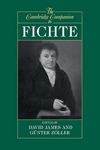 9780521478052: The Cambridge Companion to Fichte (Cambridge Companions to Philosophy)