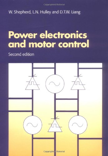 9780521478137: Power Electronics and Motor Control