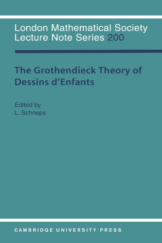 9780521478212: The Grothendieck Theory of Dessins d'Enfants (London Mathematical Society Lecture Note Series)