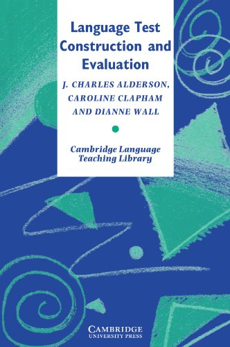 9780521478298: Language Test Construction and Evaluation (Cambridge Language Teaching Library)