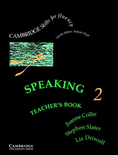 9780521478731: Speaking 2 Teacher's book: Intermediate (Cambridge Skills for Fluency)