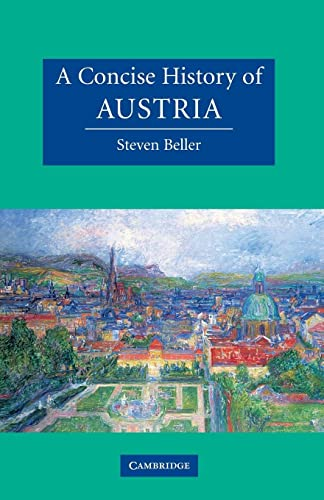 9780521478861: A Concise History of Austria (Cambridge Concise Histories)