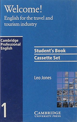 9780521479028: Welcome Audio Cassette Set (2 Cassettes): English for the Travel and Tourism Industry