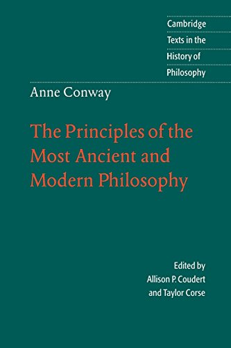 9780521479042: The Principles of the Most Ancient and Modern Philosophy (Cambridge Texts in the History of Philosophy)