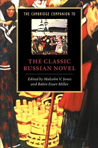 9780521479097: The Cambridge Companion to the Classic Russian Novel (Cambridge Companions to Literature)